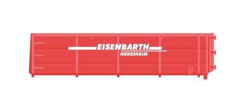 Entsorgungslogistik: Abrollcontainer in 22 Kubik