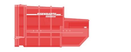 Entsorgungslogistik: Absetzpresscontainer in 10 Kubik