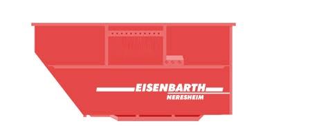 Entsorgungslogistik: Absetzcontainer 15 Kubik