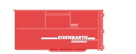 Entsorgungslogistik: Absetzcontainer 20 Kubik