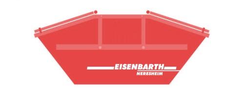 Entsorgungslogistik: Deckelmulde, Deckelcontainer in 7 Kubik