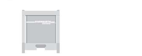 Entsorgungslogistik: IBC Behälter für 1000 Liter
