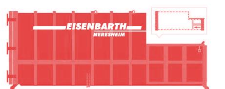 Entsorgungslogistik: Presscontainer in 20 Kubik