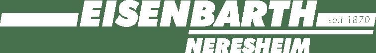 Eisenbarth Neresheim: Logo Weiß