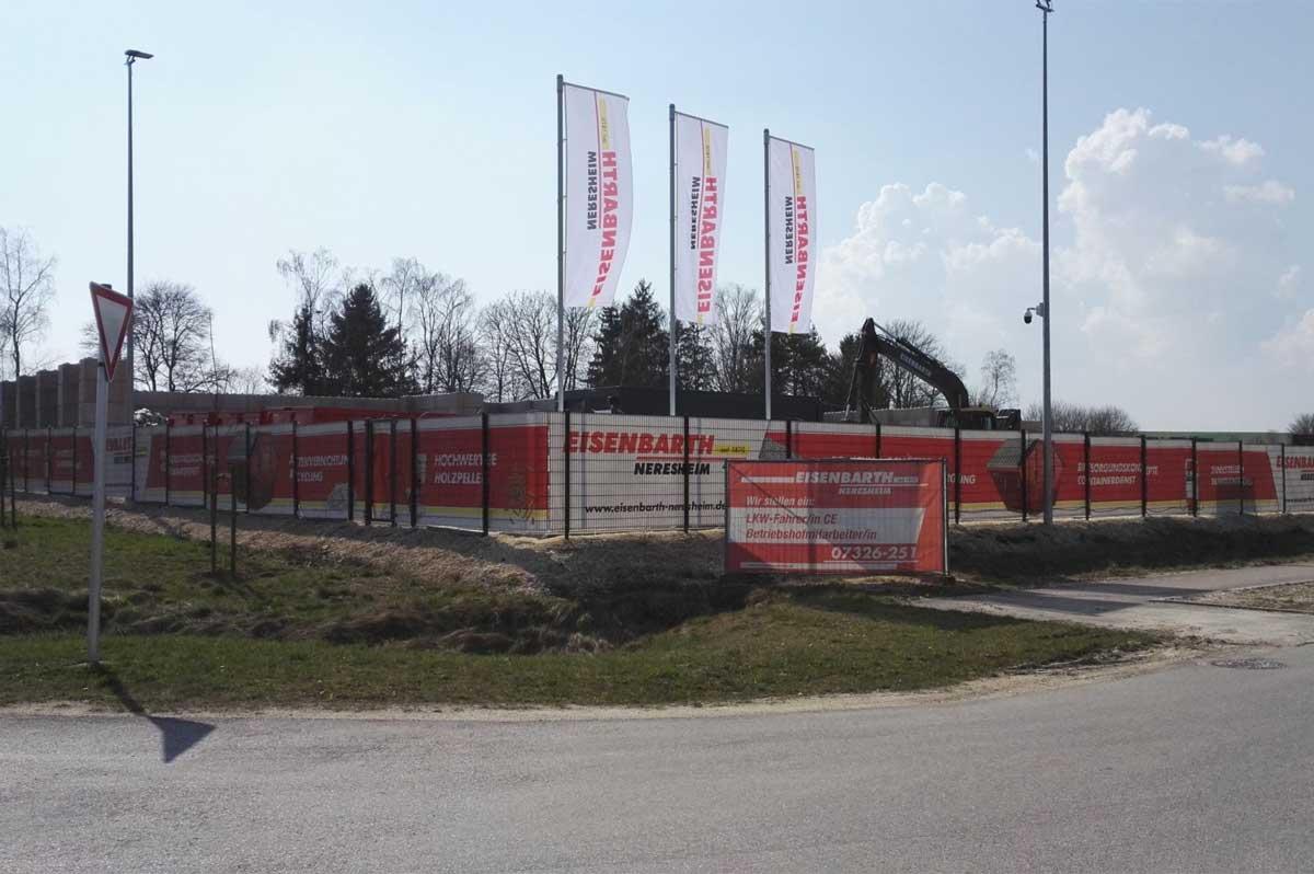 Unsere Historie: Eisenbarth Neresheim - Entsorgungszentrum
